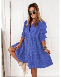 Šaty - kód 5557 - modrá