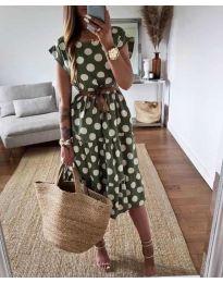 Šaty - kód 1415 - zelená