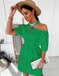 Šaty - kód 5848 - 6 - zelená