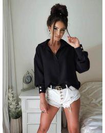 Košeľa - kód 9898 - čierná