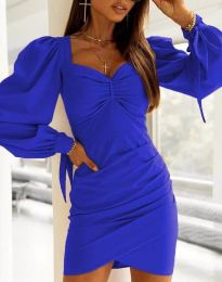 Šaty - kód 0363 - modrá