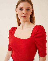 Tričko - kód 1300 - červená