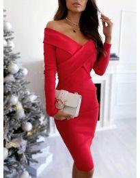 Šaty - kód 6130 - červená