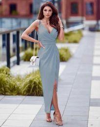 Šaty - kód 6135 - svetlo modrá