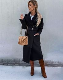 Kabát - kód 3784 - čierná