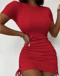 Šaty - kód 5569 - červená