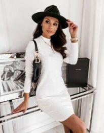 Šaty - kód 7092 - biela