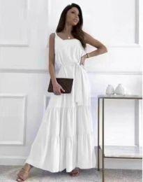 Šaty - kód 2578 - biela