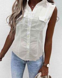 Košeľa - kód 0158 - 1 - biela