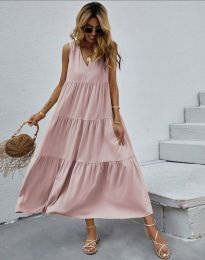 Šaty - kód 8149 - ružová