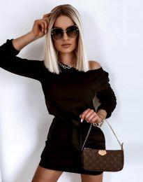 Šaty - kód 12038 - čierná