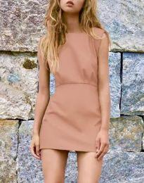 Šaty - kód 1233 - bežová