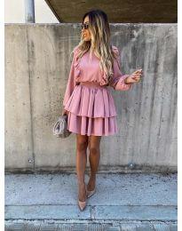 Šaty - kód 7723 - ružová
