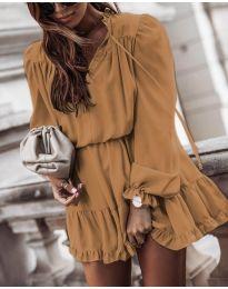 Šaty - kód 3231 - hnedá