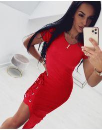 Šaty - kód 059 - červená