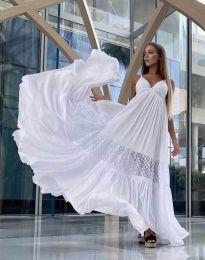 Šaty - kód 6838 - biela