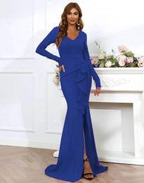 Šaty - kód 0574 - 4 - modrá