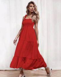 Šaty - kód 1729 - červená