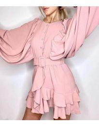 Šaty - kód 6299 - ružová