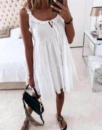 Šaty - kód 2540 - biela