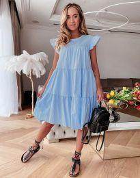 Šaty - kód 2666 - svetlo modrá