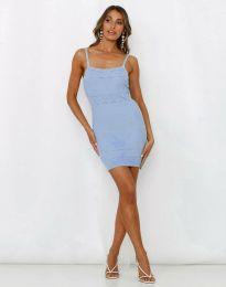 Šaty - kód 10099 - svetlo modrá