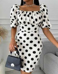 Šaty - kód 3375 - 1 - biela