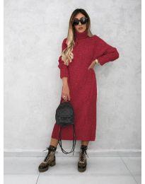 Šaty - kód 0590 - bordeaux