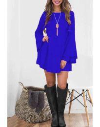 Šaty - kód 8102 - modrá