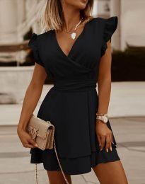Šaty - kód 5654 - čierná