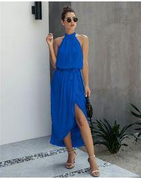 Šaty - kód 100 - modrá