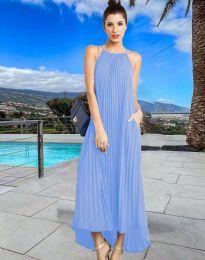 Šaty - kód 6999 - svetlo modrá