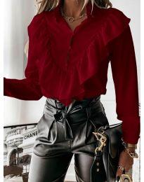 Košeľa - kód 9032 - bordeaux