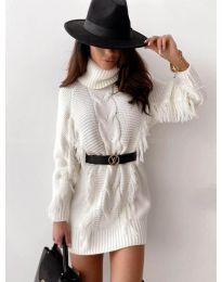 Šaty - kód 0810 - biela