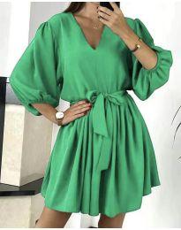 Šaty - kód 6210 - zelená