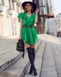 Šaty - kód 6852 - zelená
