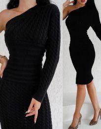 Šaty - kód 2588 - čierná
