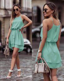 Šaty - kód 2104 - mentolová