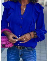 Košeľa - kód 8789 - modrý
