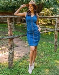 Šaty - kód 7735 - 1 - modrá