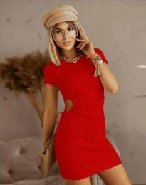 Šaty - kód 8556 - červená