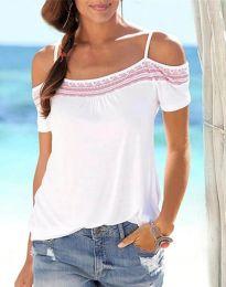 Tričko - kód 33777 - 2 - farebná