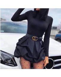 Šaty - kód 8380 - čierná