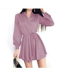 Šaty - kód 8745 - světle fialová