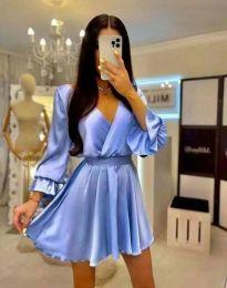 Šaty - kód 9899 - svetlo modrá