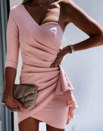Šaty - kód 5543 - ružová