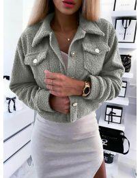 Kabát - kód 9495 - šedá