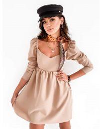 Šaty - kód 390 - bežová