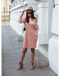 Šaty - kód 8171 - ružová