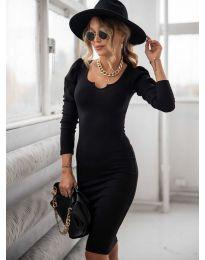 Šaty - kód 11548 - čierná